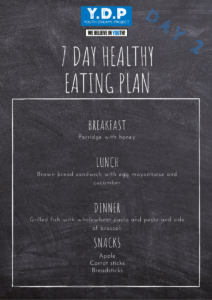 Healthy Eating Plan - Day 2