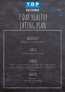 Healthy Eating Plan - Day 5