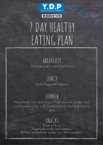 Healthy Eating Plan - Day 7