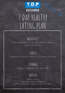 Healthy Eating Plan - Day 6